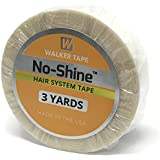 No Shine 1/2 x 3 Yards Tape WITH CASE INCLUDED - Walker Bonding Clear Double Sided by Walker Tape