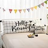 ZHANGQI Lesekissen Für Kinder Bedside Bett Kissen Student Bikini Sofa Großen Rücken Cartoon Doppel Kissen Schlafzimmer Süße Prinzessin Stil Mit Mehreren Stilen Ausgewählt Bequem,F-90 * 50cm