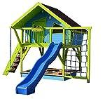 Bauanleitung Spielhaus 'OLE', Stelzenhaus, Baumhaus, Bauplan