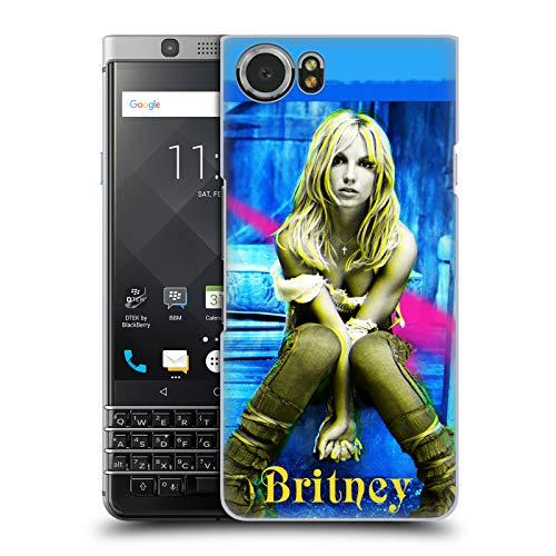 Head Case Designs Offizielle Britney Spears 2001 Cover Kunst Album Covers Harte Rueckseiten Huelle kompatibel mit BlackBerry KEYone/Mercury