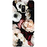 MADANYU Mesmerizing Floral Being Floral Designer Printed Hard Back Shell Case For Samsung A7 2018