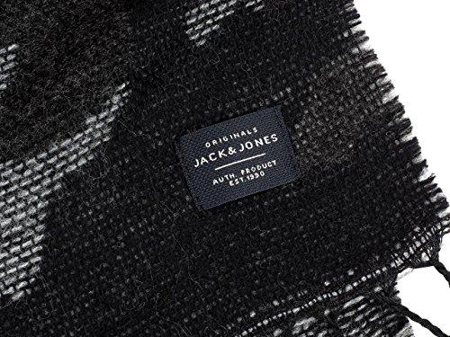 Jack & Jones Schal Trenton camouflage Grau