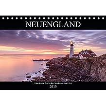 NEUENGLAND - Eine Reise durch den Nordosten der USA (Tischkalender 2019 DIN A5 quer): Die Wiege Amerikas (Monatskalender, 14 Seiten ) (CALVENDO Orte)