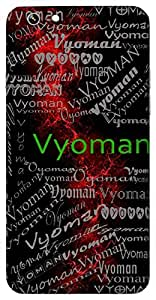 Vyoman (Sky) Name & Sign Printed All over customize & Personalized!! Protective back cover for your Smart Phone : Sony Xperia Z-5