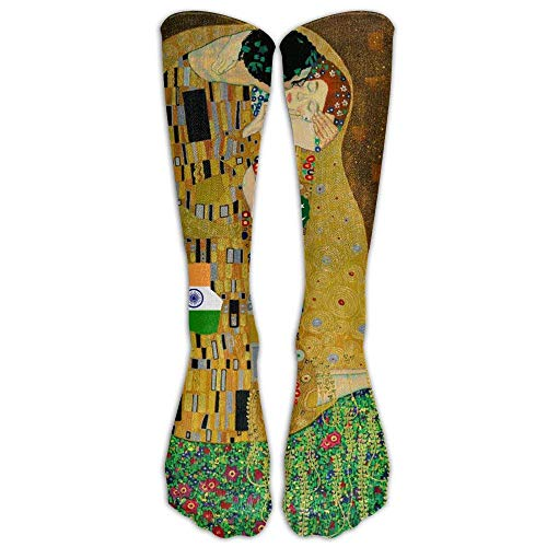 44df55de5 pigyear888 Gustav Klimt The Kiss Compression Socks For Mens & Womens Unisex  Comfortable Stockings For Sports