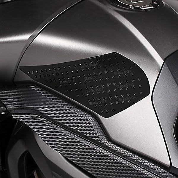 Seiten Tankpad Für Suzuki Bandit 600 650 1200 1250 S B King Gladius 650 Gsr 600 750 Hayabusa Sv 650 1000 S V Strom 1000 250 650 Xt Motea Grip L Schwarz Auto