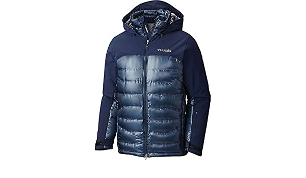 Columbia Mens Heatzone 1000 TurboDown Mens Hooded Jacket 1619811-464   Amazon.co.uk  Clothing 48e262b19a