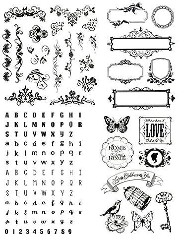 be fancy! Silikonstempel Set - Clear Stamps - Stempel -