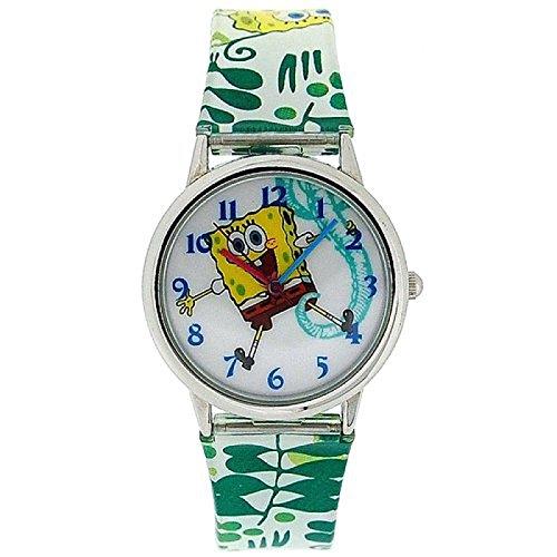 montre-enfant-bob-leponge-analogique-bracelet-en-pu-sb042