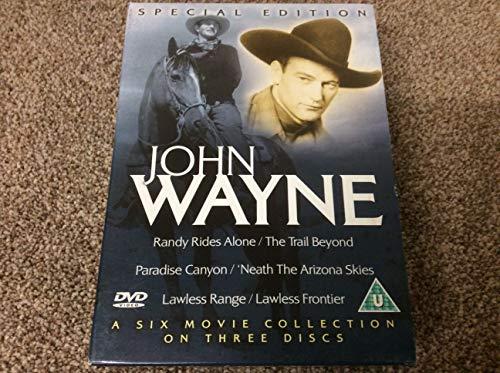 John Wayne: Randy Rides Alone/ The Trail Beyond, Paradise Canyon/