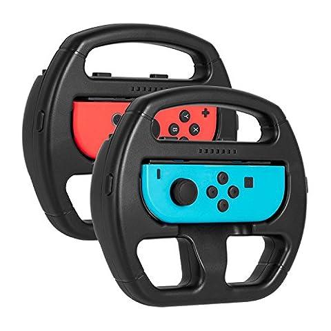 Volant Joy-Con Nintendo Switch - Younik Volant pour les Manettes Joy-Con (2 Packs)
