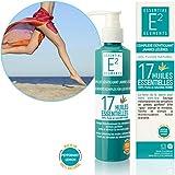 E2 Belebender Komplex für leichte Beine 17 Ätherischen Ölen Natürliche Pflege-Lotion