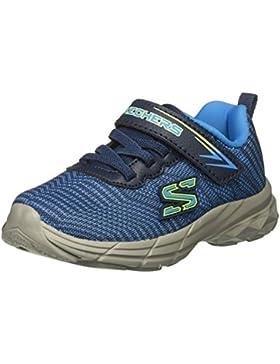Skechers Sport 95030N/BLNV Eclipsor Kinder Sneaker Low Sportschuh Klettverschluss Blue/Navy