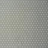 Tischdeckenstoff Wachstuch beschichtete Baumwolle grau