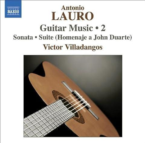 Lauro: Guitar Music, Vol. 2 - Sonata / 4 Estudios