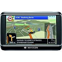 NAVIGON 40 Plus Navigationssystem (10,9cm (4,3 Zoll) Display, Europa 43, TMC, One Click Menu, Aktiver Fahrspurassistent, TTS)