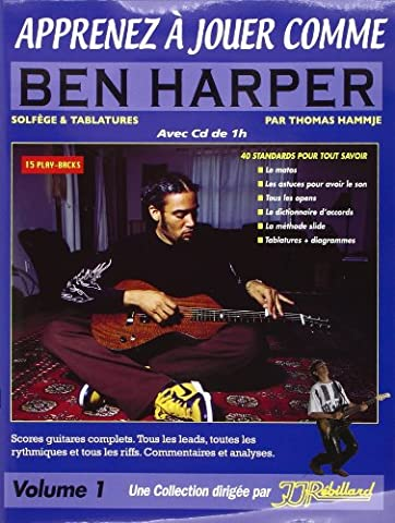Apprenez a Jouer Comme Ben Harper Rebillard CD