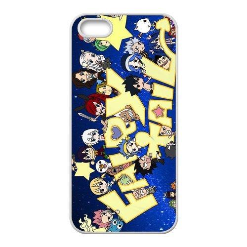 """Fairy Tail Design Étui pour l'iPhone 5/5S, coque pour iPhone 5S Coque """", Sac TPU Phone Case Housse de Protection Cas Étui Case pour iPhone 55S"""