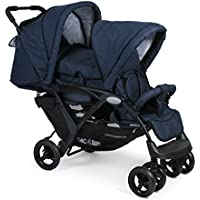 CHIC 4Baby 27452Carrito Duo, Jeans Marina, color azul