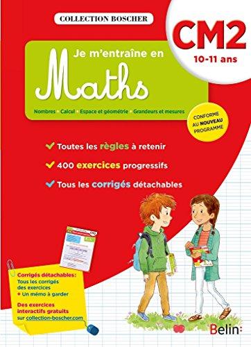 Boscher, je m'entrane en maths CM2 2016