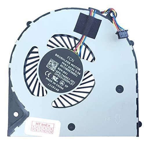 Lüfter/Kühler Fan kompatibel mit HP 350 G1 (F7Y98EA), 350 G2 (K9J00EA), 350 G2 (L8E44UT), 350 G1 (F7Y99EA), 350 G2 (K9J02EA), 350 G2 (L8E45UT), 350 G1 (K7J01ES), 350 G2 (L8B07ES), 350 G2 (P5T11ES) -