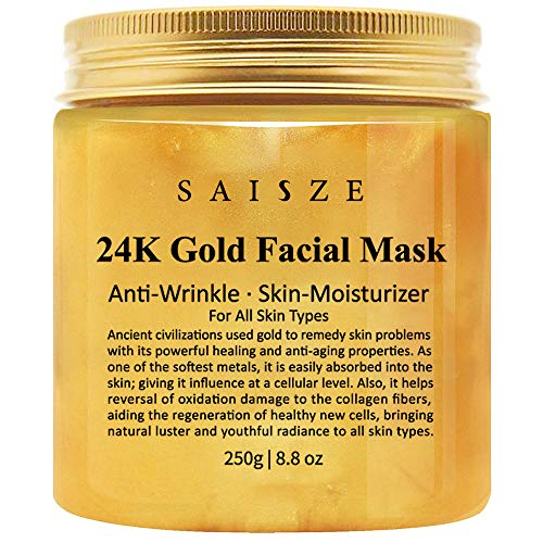 Cosprof - Máscara facial de oro de 24 K para tratamiento facial antiarrugas, antienvejecimiento, minimizador de líneas finas, tratamiento de cicatrices de acné y removedor de puntos negros, 22,86 g