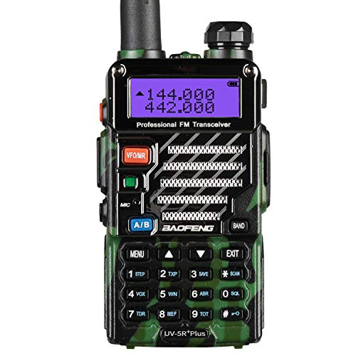 Baofeng UV-5R Plus 2m/70cm walkie Talkie