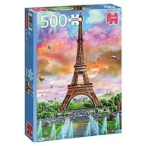 Jumbo, France pcs Eiffel Tower, Paris, Puzzle de 500 Piezas (618533)
