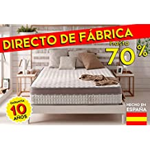 Colchón 90 x 190 cm EXTRAVISCO de espuma visco-elástica THERMOSOFT® - Naturalex