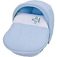 Piccolandy 1027155071200 - Saco para cestita, grupo 0, 85 x 55 cm, color azul