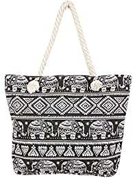 Decent Contemporary Print Multicolor Hand Bag For Mother's Day