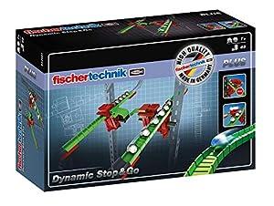 Fischertechnik Stop and Go- Amplia tus Circuitos de Canicas con este Juego Educativo y Divertido de Construcción que tiene 45 Piezas