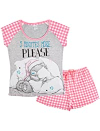Various Womens Character Short Pjs Pyjama Set Shorts + T-Shirt Loungewear Ladies Size UK 8-22