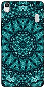 The Racoon Grip printed designer hard back mobile phone case cover for Lenovo K3 Note. (cyan shell)