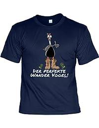 Wandern Hobby Freizeit Fun Shirt Alpinisten Berg Sport Bekleidung Wanderer Bergsteiger Print lustig bedruckt WANDERVOGEL WANDERSTIEFEL T-Shirt Ausrüstung : )
