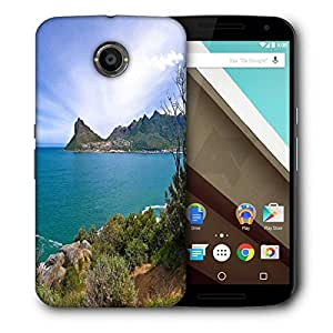 Snoogg Amazing Sea View Printed Protective Phone Back Case Cover For LG Google Nexus 6