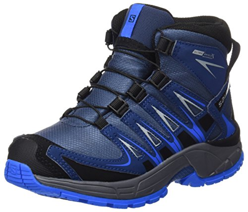 Salomon Xa Pro 3d Mid, Bottines de randonnée mixte enfant Black