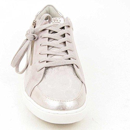 Marco Tozzi  2-2-73630-28-261, Baskets pour femme Grey Metallic Comb