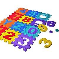 Preisvergleich für Puzzle-Krabbeldecke für Kinder-36 stücke pro set neue eva kinder puzzle matte digitale brief pädagogisches schaum matte kältedichte umweltfreundliche baby krabbeln klettern mat