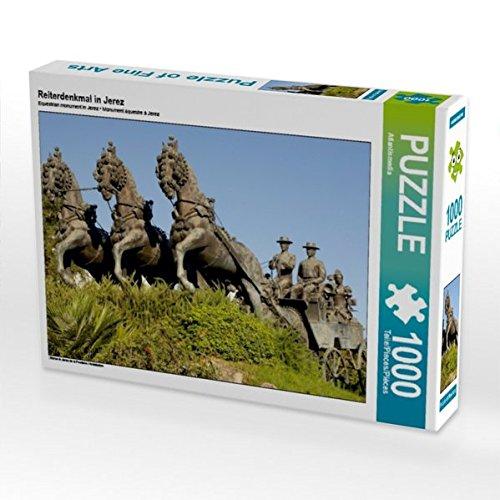 Reiterdenkmal in Jerez 1000 Teile Puzzle quer (CALVENDO Orte) Preisvergleich