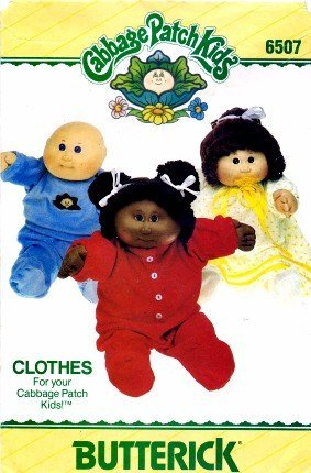 butterick-6507-sewing-pattern-cabbage-patch-kids-doll-clothes-by-butterick