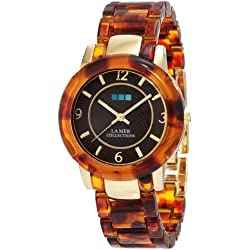 La Mer Collections Damen LMINDO002 Indo Lucite Uhr
