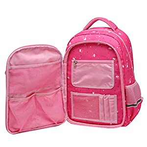 51fOrMIrlZL. SS300  - SellerFun UKXB106 - Mochila Infantil Niños, 22 L Style B Rose (Rojo) - UKXB426A1