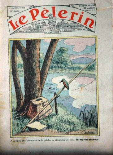 Le Plerin - n3091 - 21/06/1936 - Martin-pcheur, Rouget de l'Isle, Grves, Gap