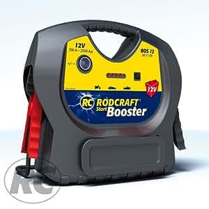 rodcraft start booster portable pour voiture. Black Bedroom Furniture Sets. Home Design Ideas