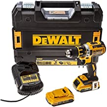 DEWALT DCD790D2 Brushless avec 2 batteries en coffret Tstak 18 V 2 Ah