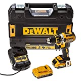 DEWALT DCD790D2 Brushless avec 2 batteries en coffret Tstak  18 V 2 Ah