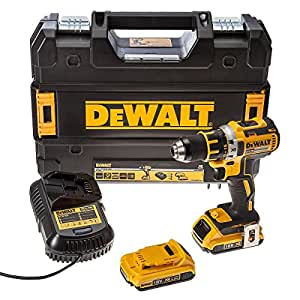 DEWALT DCD790D2 Brushless avec 2 batteries en coffret