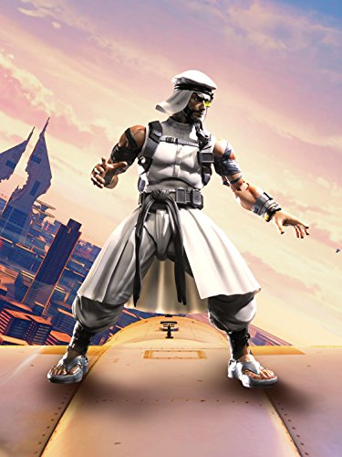 Rashid Figura 15 Cm Street Fighter V SH Figuarts 5