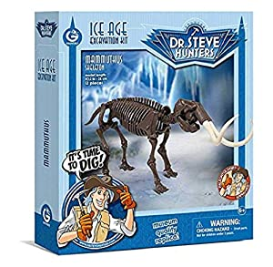 Geoworld - Ice Age Excavation Kit, Mammuthus Esqueleto (DeQUBE Trading CL1675K)